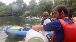 Descente du Loing en canoë